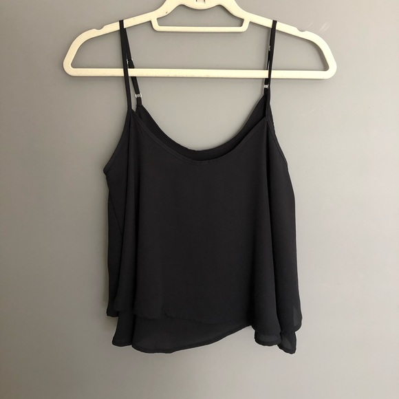 🦋3 for $30🦋 Black Layered Tank Top